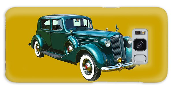 Classic Green Packard Luxury Automobile Galaxy Case by Keith Webber Jr