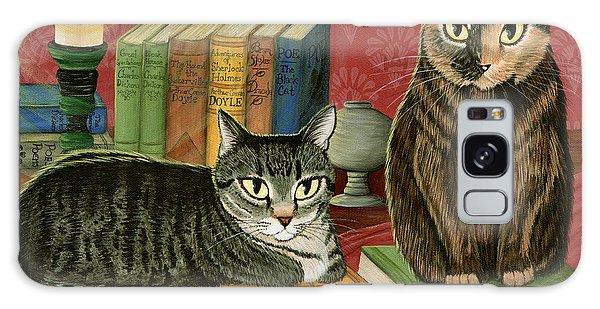Classic Literary Cats Galaxy Case