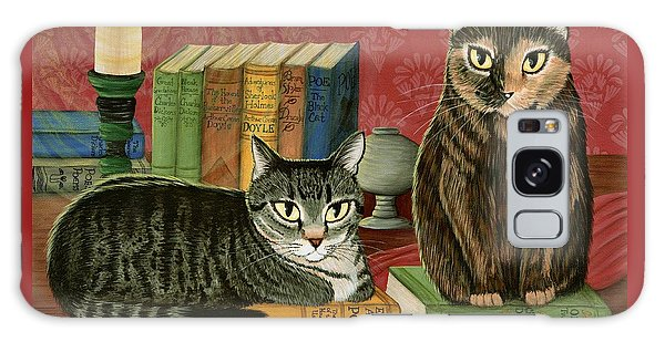 Classic Literary Cats Galaxy Case