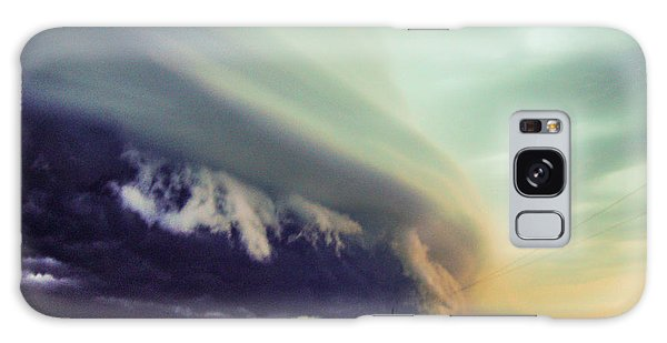 Classic Nebraska Shelf Cloud 024 Galaxy Case