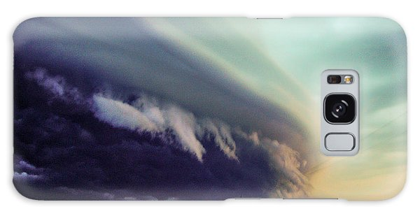 Classic Nebraska Shelf Cloud 027 Galaxy Case