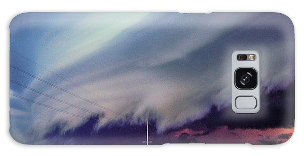 Classic Nebraska Shelf Cloud 028 Galaxy Case
