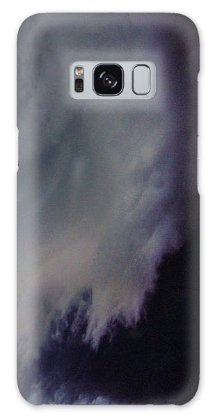 Classic Nebraska Shelf Cloud 029 Galaxy Case