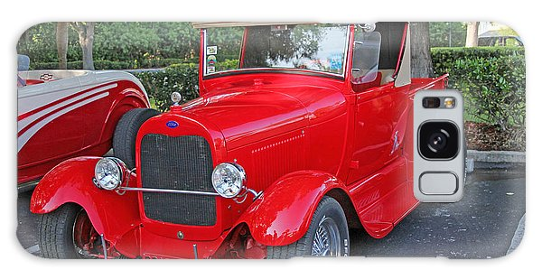 Classic Red Ford Truck Galaxy Case