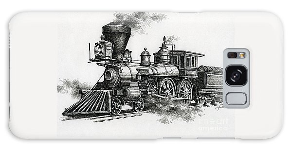 Train Galaxy Case - Classic Steam by James Williamson