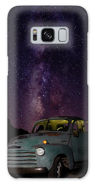 Classic Truck Under The Milky Way Galaxy Case