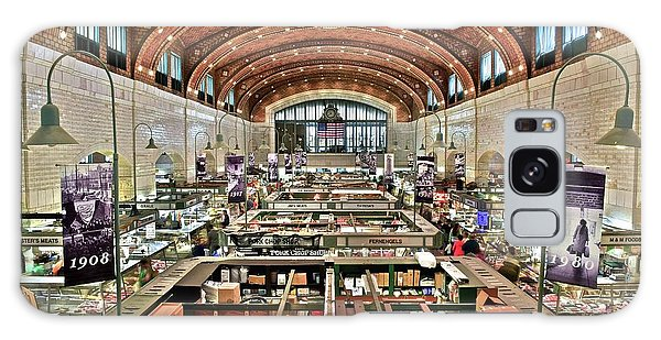 Classic Westside Market Galaxy Case by Frozen in Time Fine Art Photography