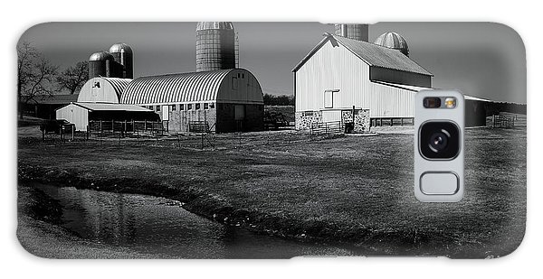 Classic Wisconsin Farm Galaxy Case