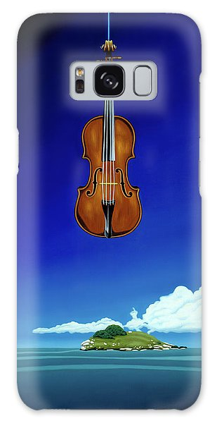 Classical Seascape Galaxy Case