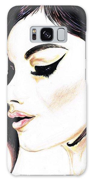 Classy Lady Galaxy Case by Teresa White