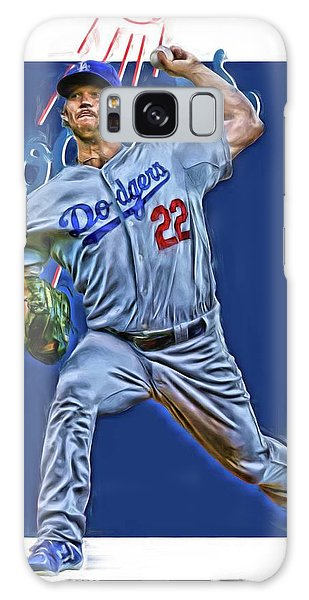 Clayton Galaxy Case - Clayton Kershaw Los Angeles Dodgers Oil Art by Joe Hamilton