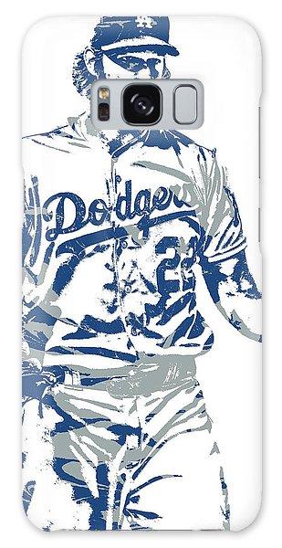Los Angeles Dodgers Galaxy S8 Case - Clayton Kershaw Los Angeles Dodgers Pixel Art 10 by Joe Hamilton