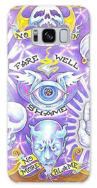 Galaxy Case - Clean Heart by Jacki Randall