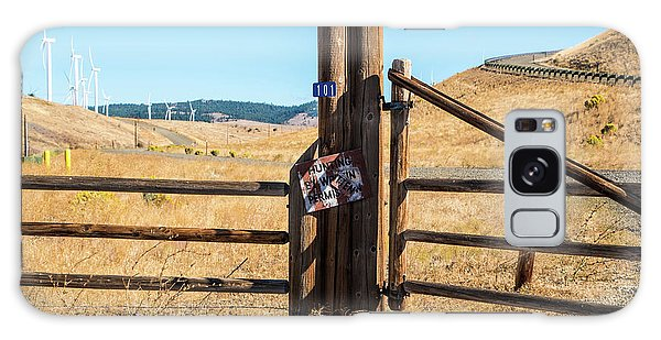 Clean Power And Old Ranch Gates Galaxy Case