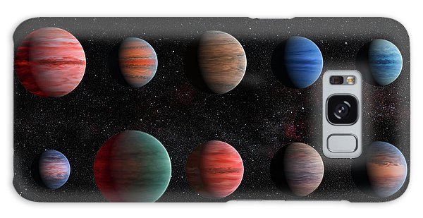 Clear To Cloudy Hot Jupiters Galaxy Case