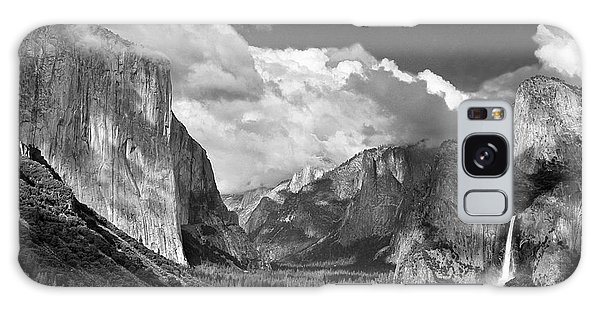Clearing Skies Yosemite Valley Galaxy Case