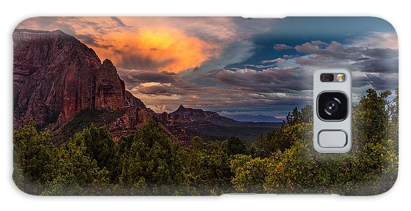 Clearing Storm Over Zion National Park Galaxy Case