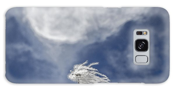 Clematis And Clouds Galaxy Case