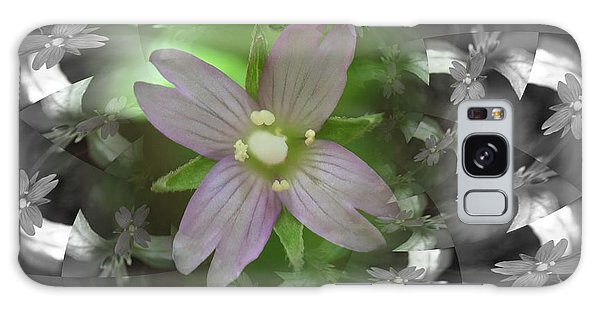 Clematis Galaxy Case by Keith Elliott