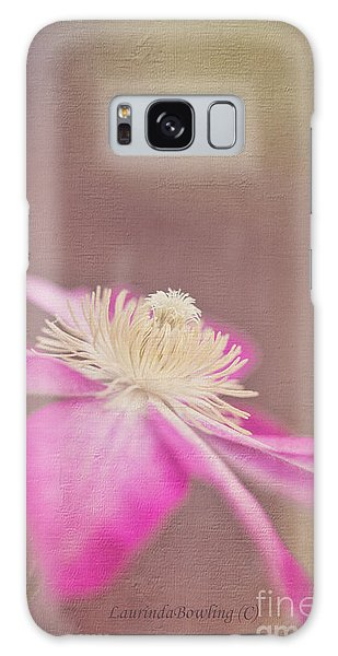 Clematis Galaxy Case by Laurinda Bowling