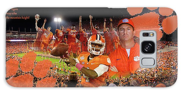Clemson National Champs Galaxy Case