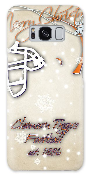 Clemson Galaxy Case - Clemson Tigers Christmas Card 2 by Joe Hamilton