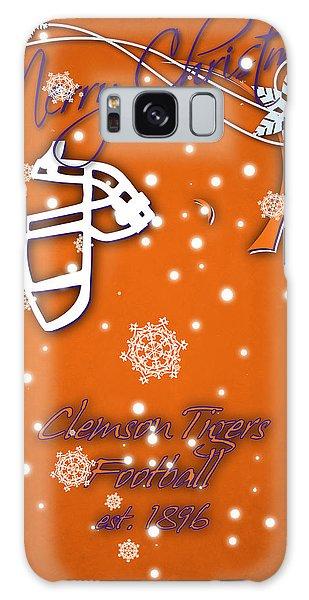 Clemson Galaxy Case - Clemson Tigers Christmas Card by Joe Hamilton