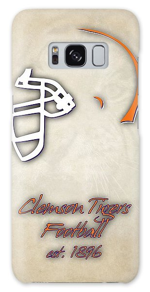 Clemson Galaxy Case - Clemson Tigers Helmet 2 by Joe Hamilton