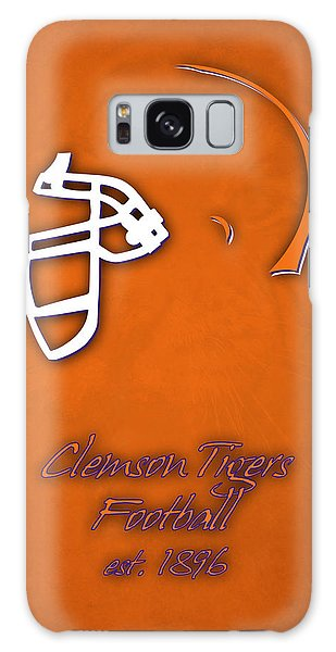 Clemson Galaxy Case - Clemson Tigers Helmet by Joe Hamilton