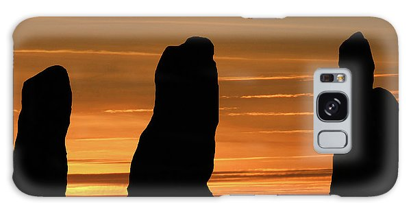 Clent Hills Sunset Galaxy Case