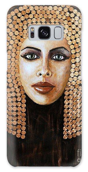 Cleopatra Galaxy Case by Arturas Slapsys