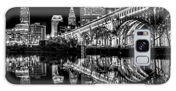 Cleveland After Dark Galaxy Case by Brent Durken
