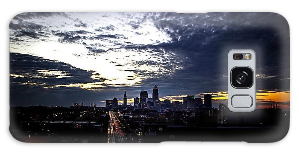 Chris Walter Galaxy Case - Cleveland At Dusk by Chris Walter