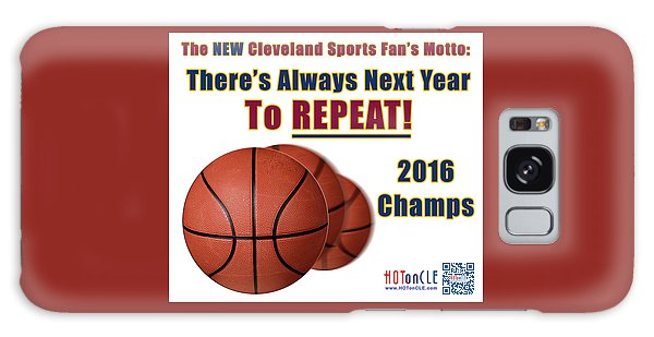 Cleveland Basketball 2016 Champs New Motto Galaxy Case