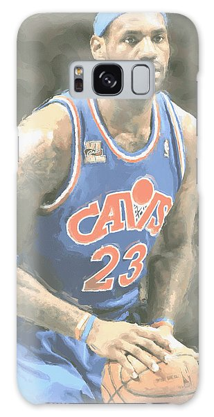 Cleveland Cavaliers Lebron James 1 Galaxy Case