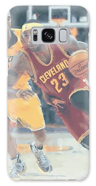 Cleveland Cavaliers Lebron James 3 Galaxy Case