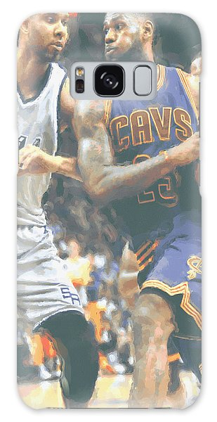 Cleveland Cavaliers Lebron James 4 Galaxy Case