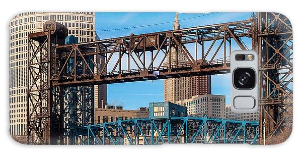 Cleveland City Of Bridges Galaxy Case