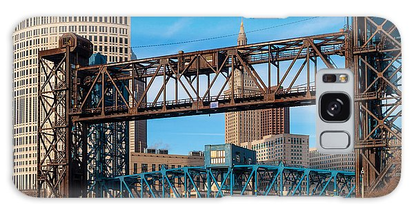 Cleveland City Of Bridges Galaxy Case
