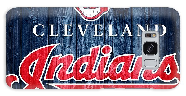 Cleveland Indians Barn Door Galaxy Case