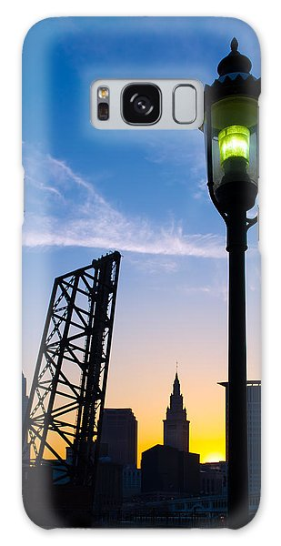 Cleveland Morning By The Lamp Post Galaxy Case