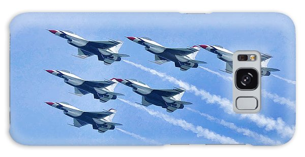 Cleveland National Air Show - Air Force Thunderbirds - 1 Galaxy Case