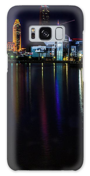 Cleveland Nightly Reflections Galaxy Case