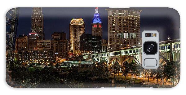 Cleveland Nightscape Galaxy Case