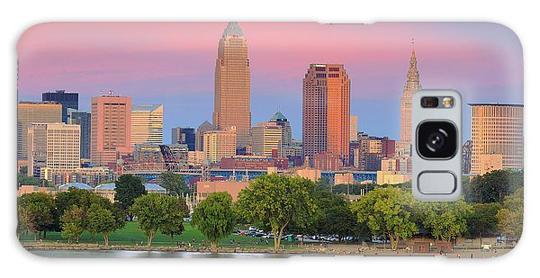 Cleveland Skyline 6 Galaxy Case