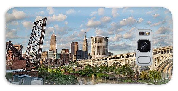 Cleveland Skyline Vista Galaxy Case