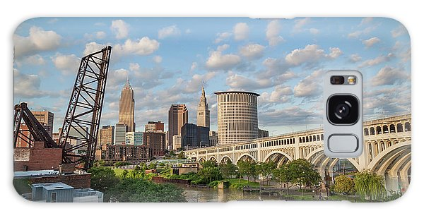 Cleveland Skyline Vista Galaxy Case