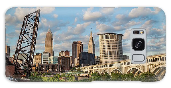 Cleveland Summer Skyline  Galaxy Case