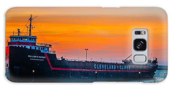Cleveland Sunset Galaxy Case