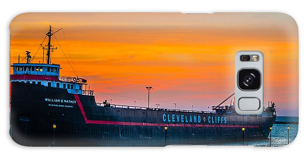 Cleveland Sunset Galaxy Case
